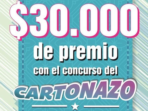 ¡Controlá tu Cartonazo, este miércoles se entregan los $30.000!