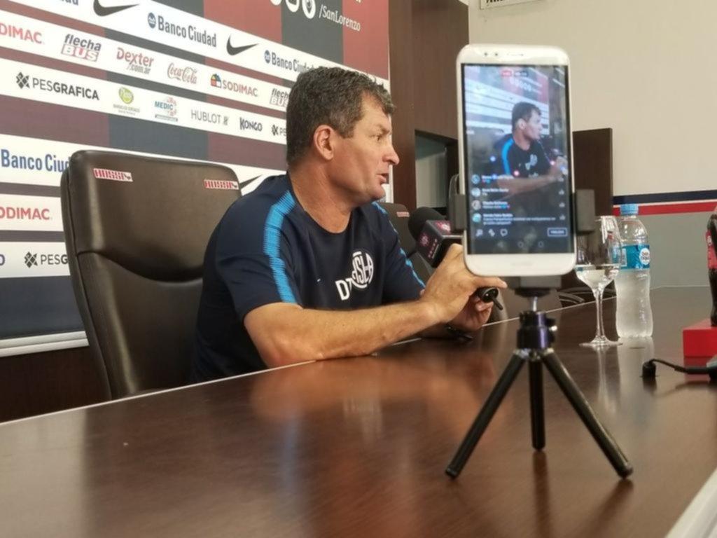 San Lorenzo, con la mira en la Superliga y la Sudamericana