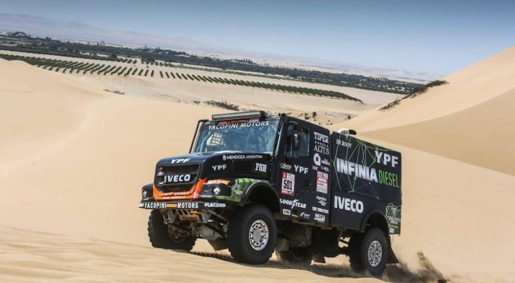 El cordobés Villagra tercero en la general — Rally Dakar