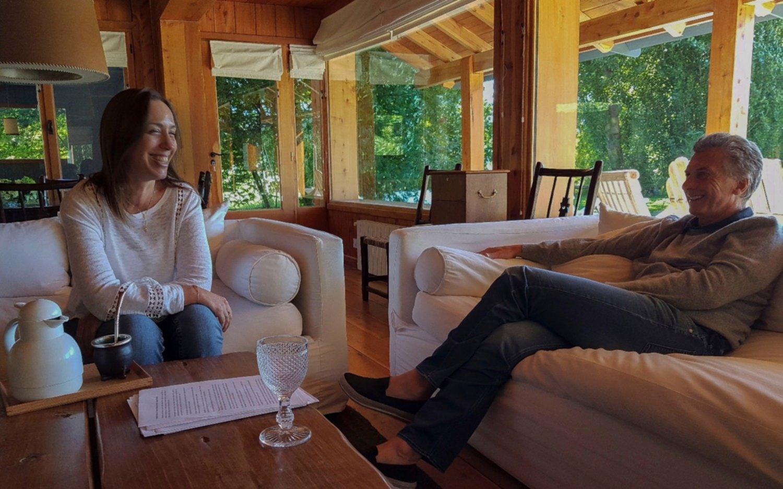Macri recibió a Rodríguez Larreta en Villa La Angostura