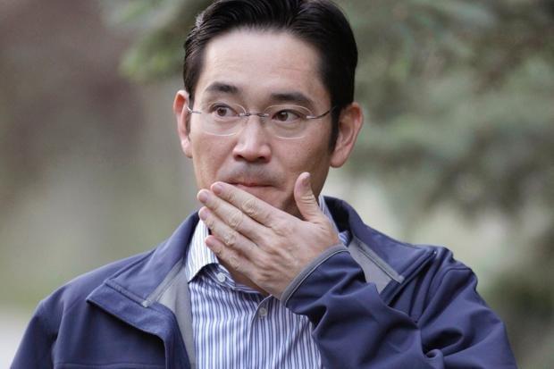 """Detuvieron al """"heredero"""" de Samsung"""