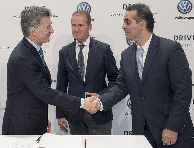 Volkswagen aseguró que se podría construir un auto eléctrico en el país