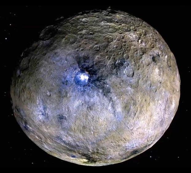 Ceres contiene compuestos químicos capaces de desarrollar vida