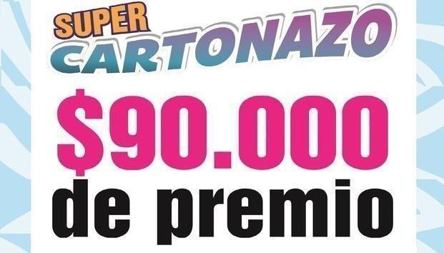 Salió un nuevo Cartonazo, ahora por $90.000