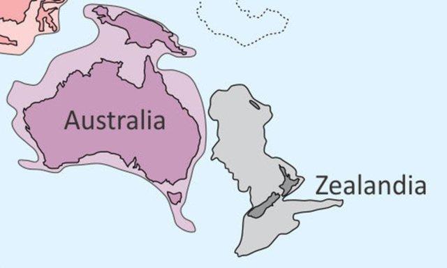 Podría existir un continente perdido debajo de Nueva Zelanda