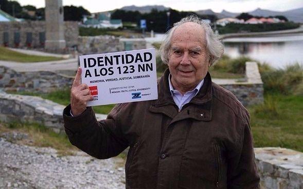 """Revuelo y repudio por """"los NN"""" de Malvinas"""