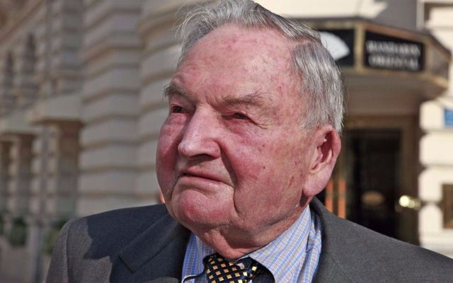A los 101 años, murió David Rockefeller