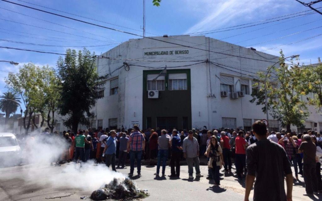 Municipales de Berisso van a paro por reclamos salariales