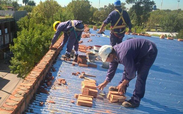 Terminaron obras en el techo de la Primaria 2 de Ensenada
