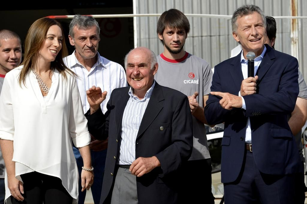 """Macri sobre Vidal: """"La admiro por todas las batallas que da"""""""