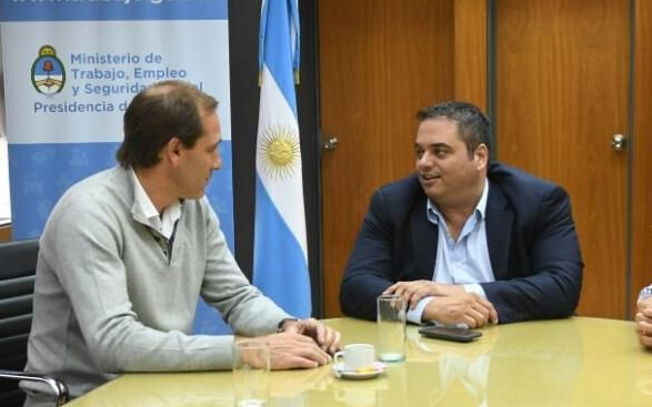 Garro y Triaca analizaron planes para potenciar el empleo local