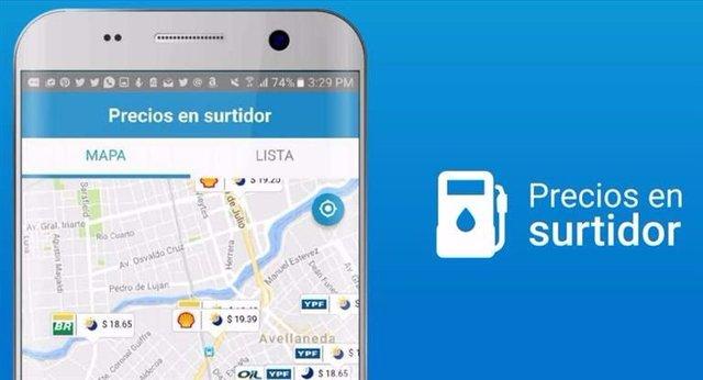 """""""Precios en Surtidor"""", la app para consultar los precios del combustible en tiempo real"""