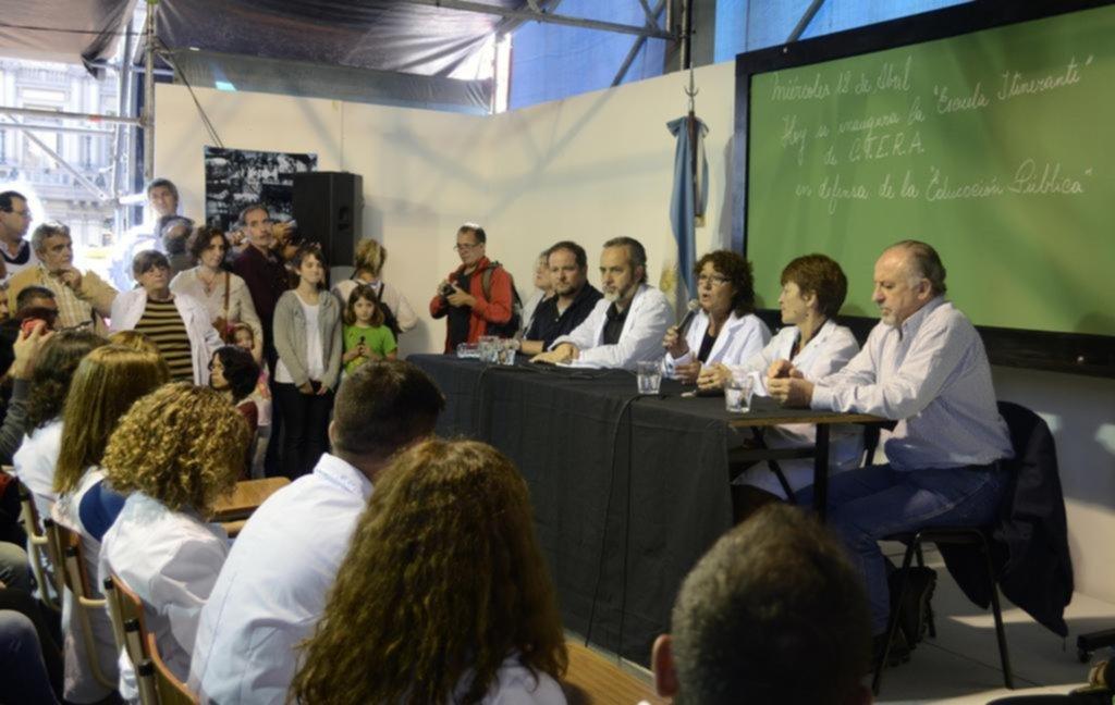 """El """"acuerdo educativo"""" bonaerense incluiría varias metas a largo plazo"""