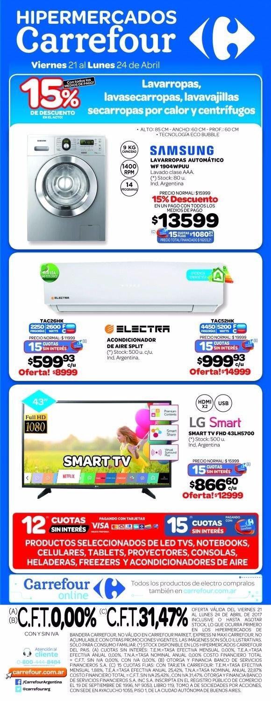 Grandes ofertas en Hipermercados Carrefour