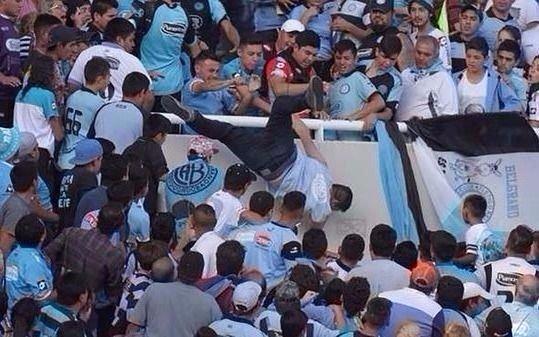 Belgrano expulsa de por vida a agresores de fan asesinado