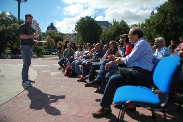 Docentes universitarios en pie de guerra: lanzan una semana de huelga