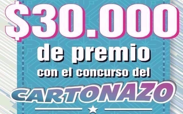 Arranca una nueva jugada de El Cartonazo con un pozo de $30.000