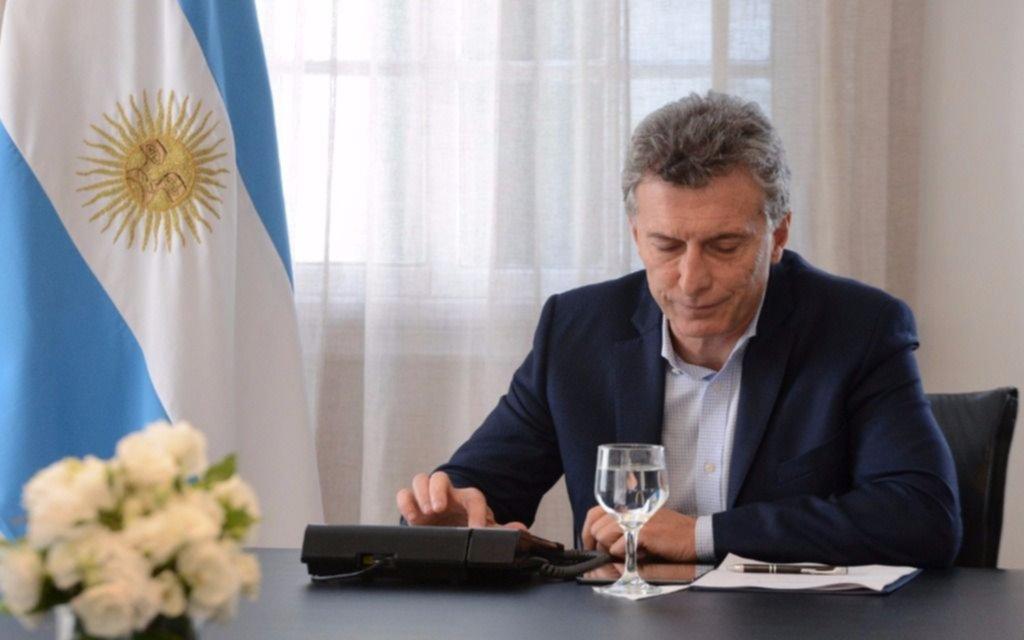 Macri habló con el padre del hincha de Belgrano asesinado
