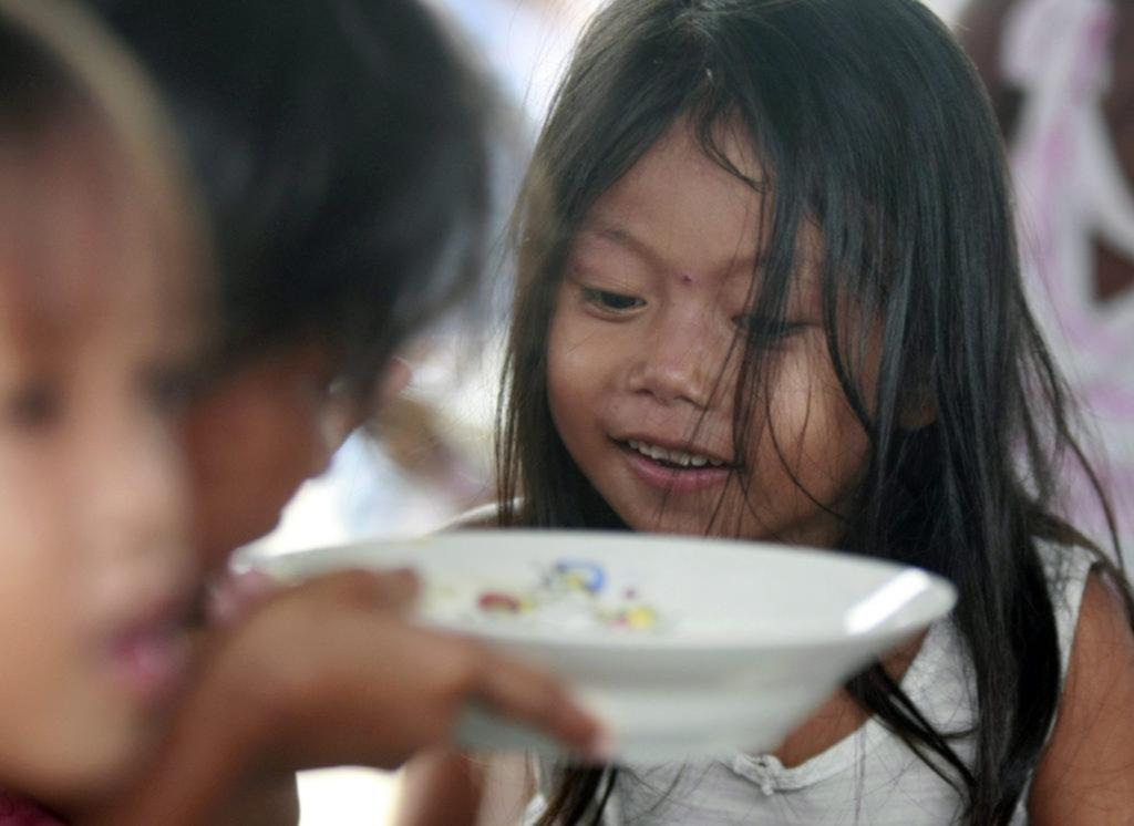 Un 42% de los niños que viven en villas presenta malnutrición