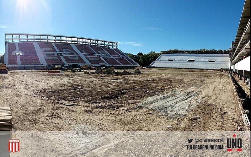 """""""Para terminar el estadio faltan unos 11 millones de dólares"""""""