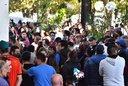 Familiares y vecinos inhumaron los restos de Araceli en el cementerio de San Martín