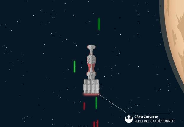 Fanático de Star Wars dibujó uno de los episodios en una sola imagen
