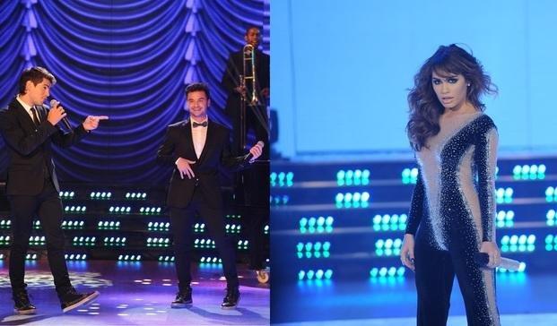 Márama, Rombai y Lali Espósito le pusieron música a la apertura de ShowMatch 2016