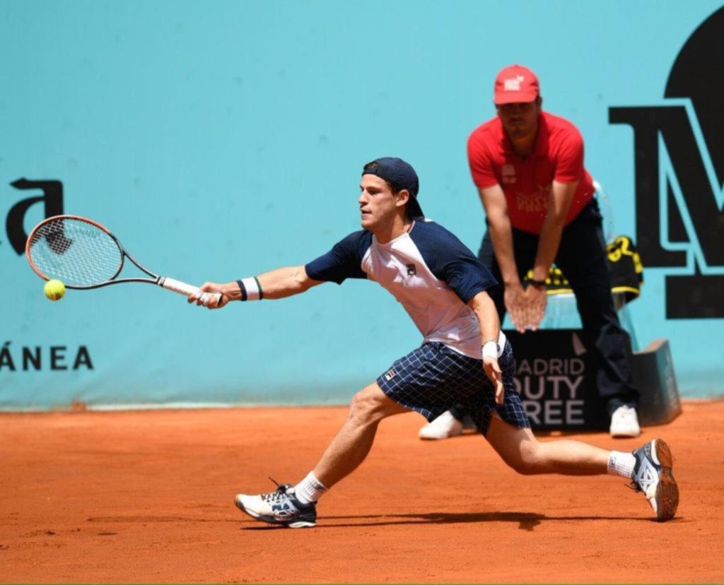 Diego Schwartzman avanzó sin problemas en el Masters de Madrid — Tenis