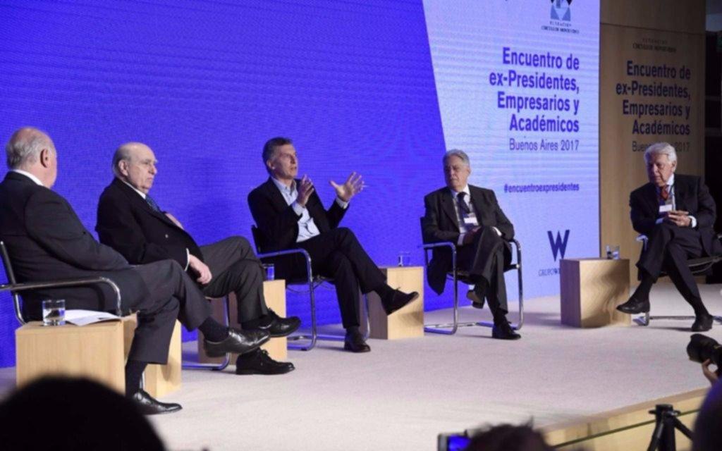 Macri consideró que los docentes negocian