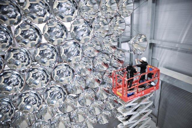 Científicos alemanes ya han puesto en funcionamiento el mayor sol artificial del mundo