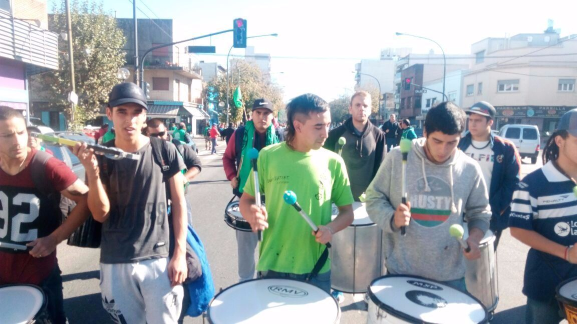 Estatales marcharon frente al Ministerio de Trabajo bonaerense