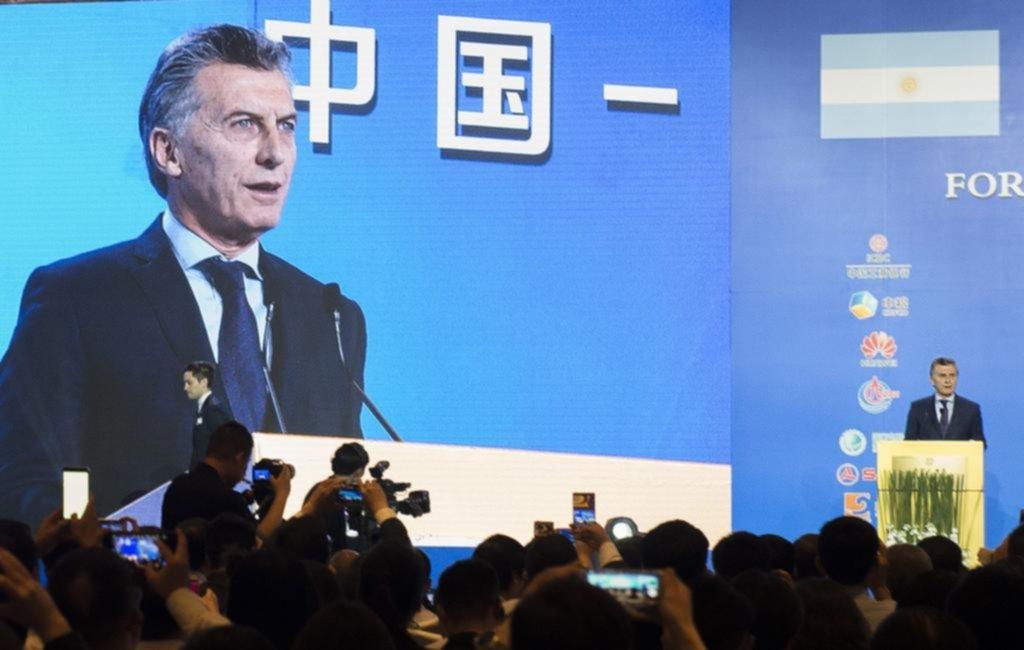 Macri prometió duplicar la producción de alimentos