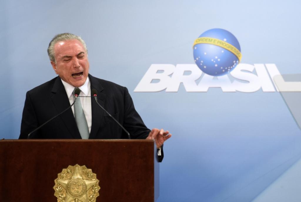 El cerco judicial se cierra sobre Temer en Brasil
