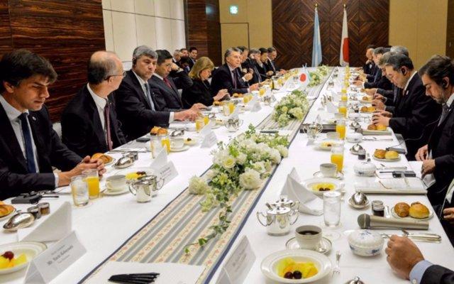 Macri invitó a empresarios japoneses a invertir en Argentina