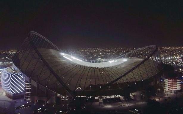 Qatar inauguró el primer estadio para el Mundial 2022