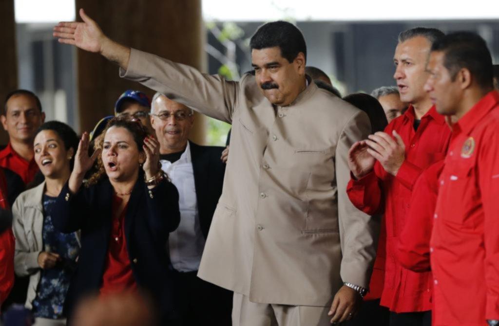 """Otra de Maduro: le pidió a Trump que saque sus manos """"cochinas"""" de Venezuela"""