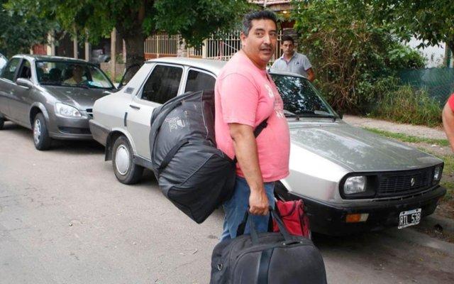 """""""Caranchos"""": los detenidos esperan ser excarcelados"""