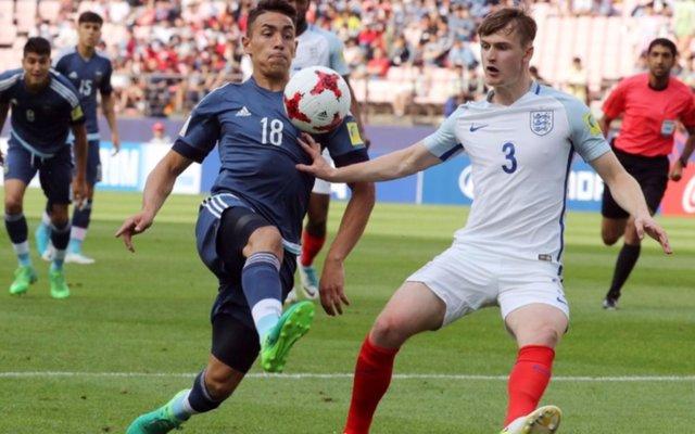 Mundial sub-20: Argentina cayó por goleada ante Inglaterra