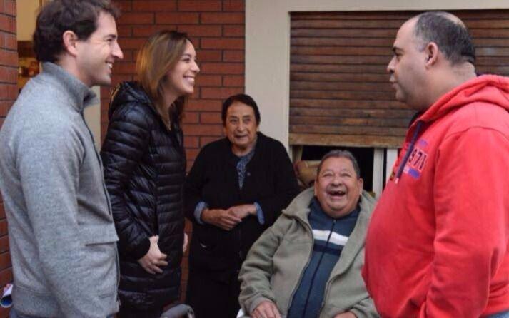 Vidal, Esteban Bullrich y Peña recorrieron la Provincia — Timbreo