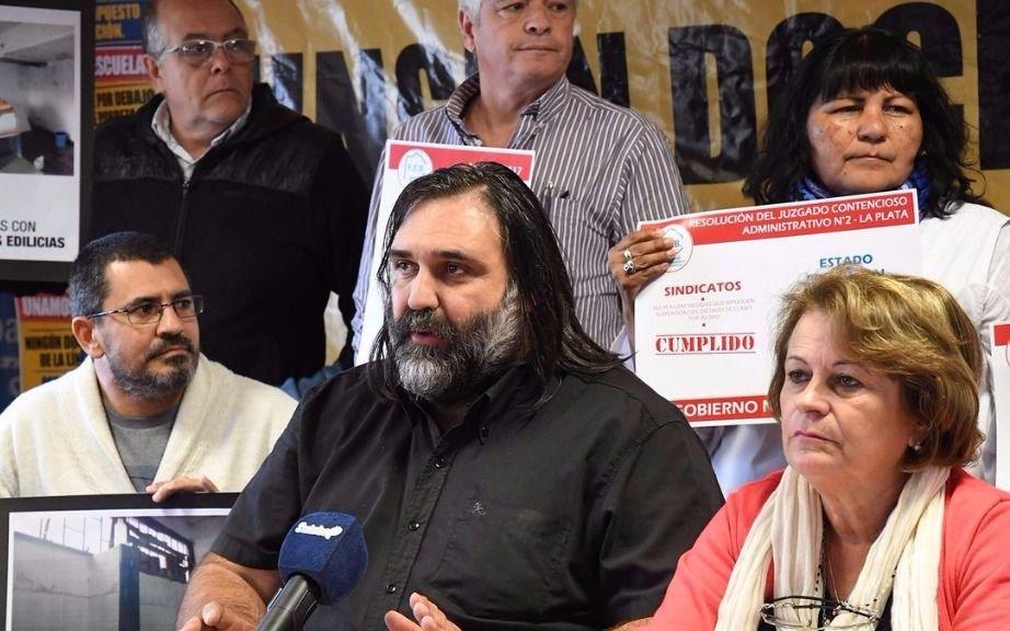 Docentes eligen: Baradel disputa su continuidad al frente de Suteba