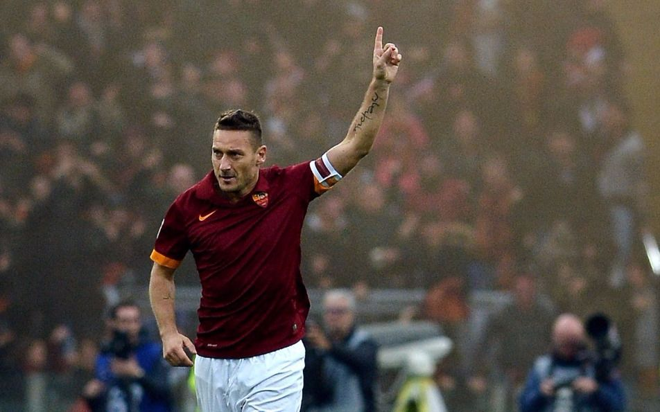 Francesco Totti jugó su último partido con la Roma