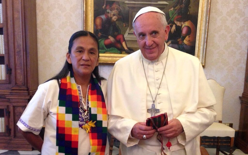 Papa Francisco envía una carta a la activista argentina encarcelada Milagro Sala