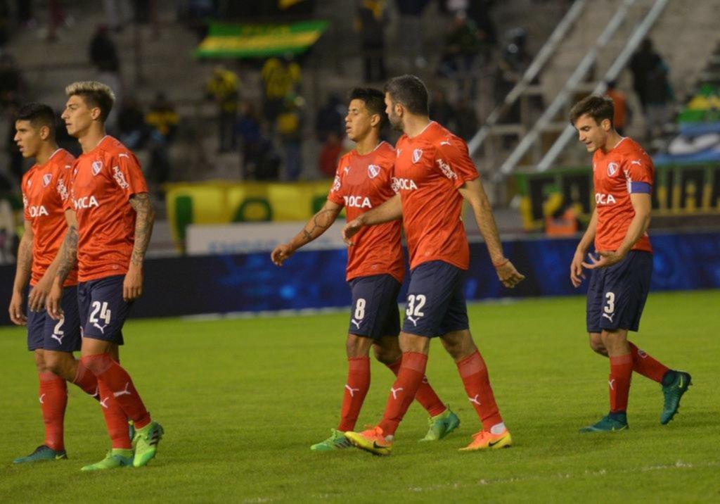 Independiente no pasó del 0-0 con Aldosivi y se aleja