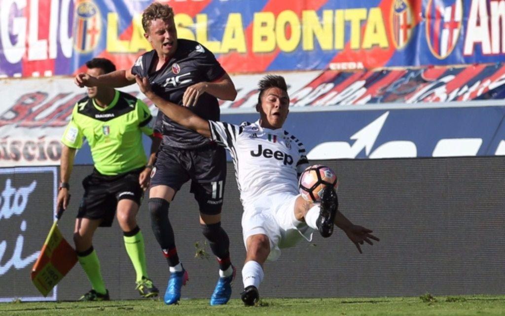 Erick Pulgar vio acción en agónica derrota de Bologna ante Juventus