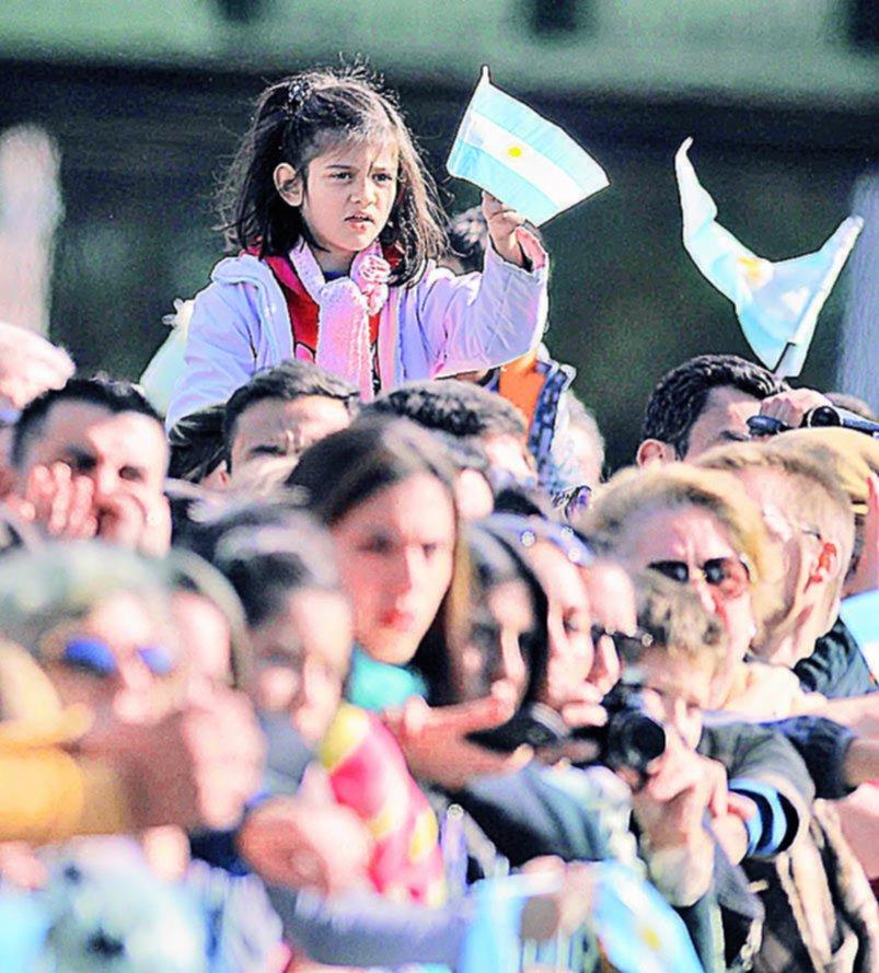 Festejos en Palermo por el 207° aniversario de la Revolución de Mayo