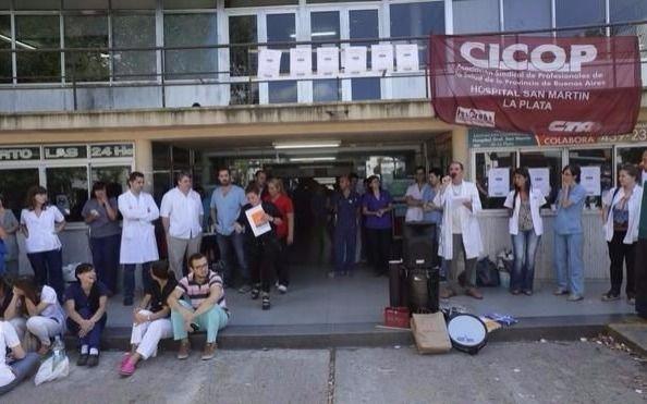 Médicos bonaerenses nucleados en Cicop rechazaron propuesta de aumento salarial del gobierno