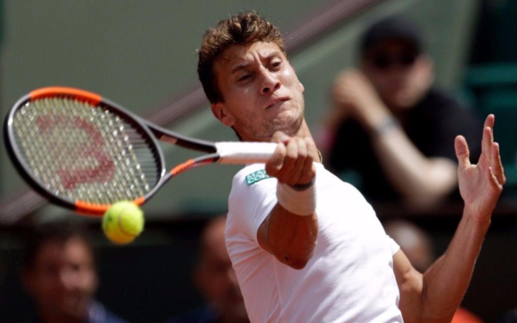 Renzo Olivo dio el golpe y eliminó a Tsonga en Roland Garros
