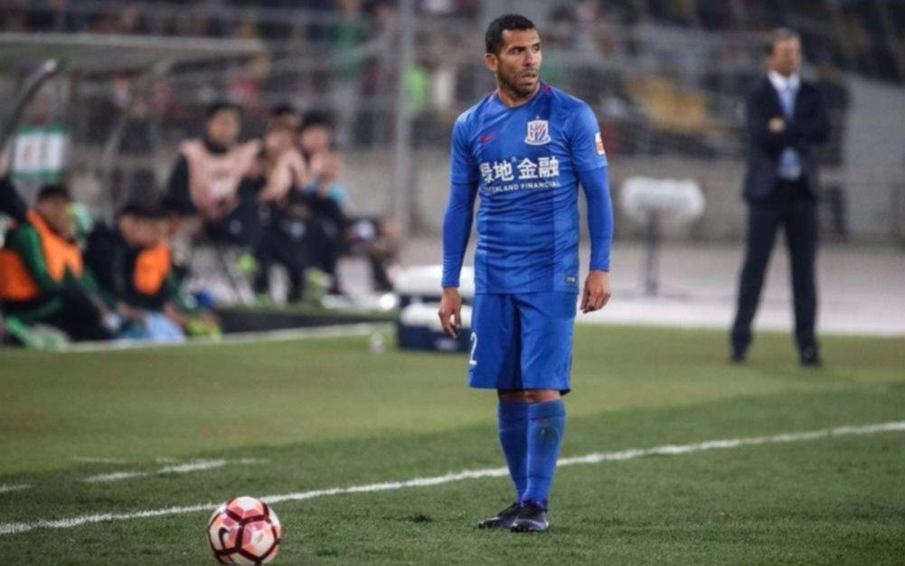 Tevez fue titular en derrota del Shanghai Shenhua