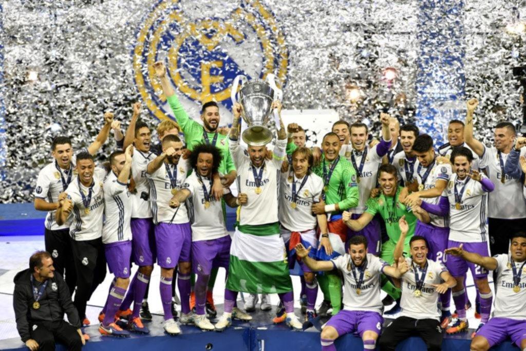Real Madrid levantó la 'orejona'