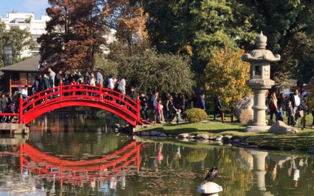 Video palermo celebra los 50 a os del jard n japon s for Jardin japones palermo